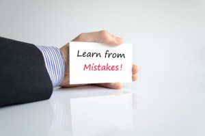 Art of living your mistakes